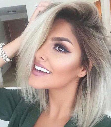 Short Ash Blonde Hair Color, Hair Blonde Short Makeup