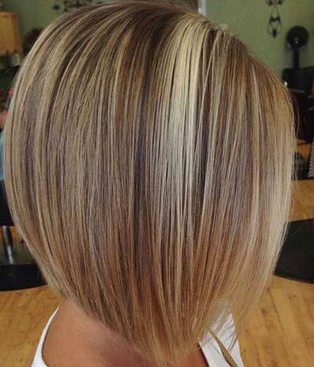 Short Haircut for Women with Fine Hair, Bob Fine Short Round