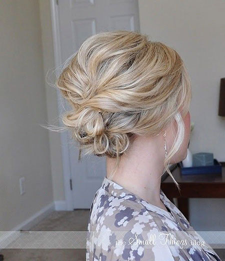 Updo Hairtyle for Short Hair, Updo Hair Wedding Updos