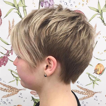 Pixie Choppy Short Bangs