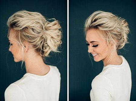 Short Wedding Updo Hair