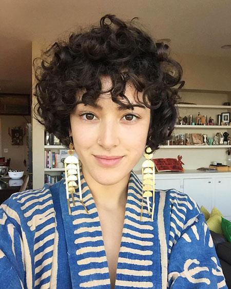 Curly Short Hair Curls