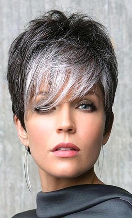 Short Hair Grey Styles