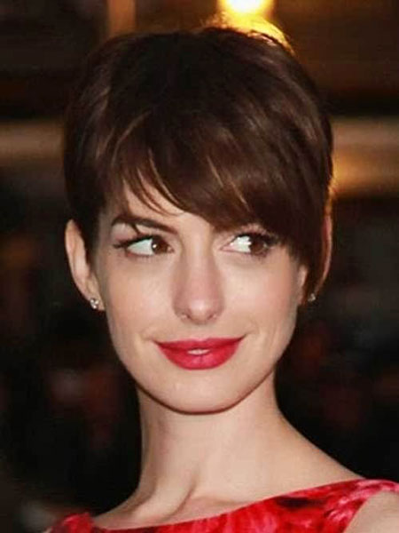 12 Anne Hathaway Pixie Cut 300 Short Hairstyles Haircuts Ideas Short Haircut Co