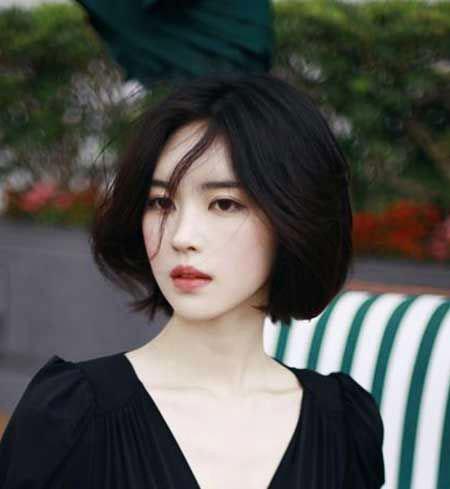 Girl Asian Short Hairtyles