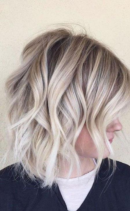 23 Short Ash Blonde Hair Color