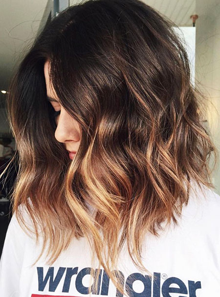 Hair Brown Balayage Ombre