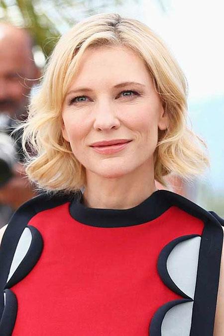 Cate Blanchett Hairtyles Bob