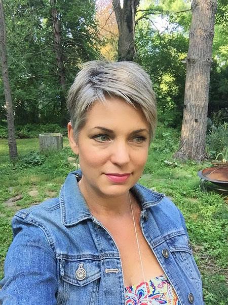 Pixie Short Grey Hair