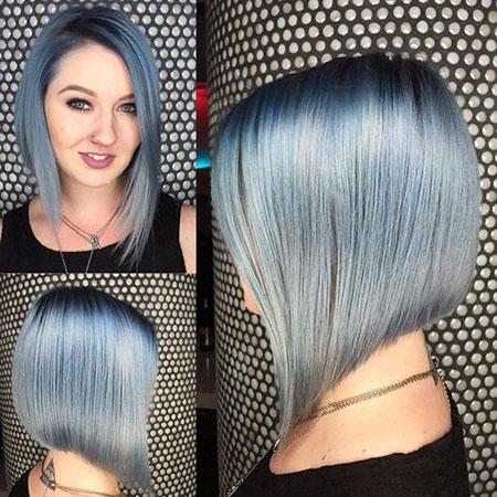 Hair Short Silver 40