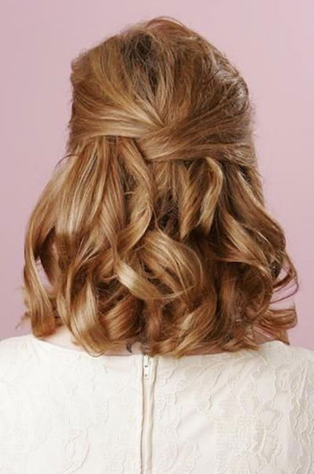 Hair Prom Up Half
