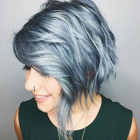 Silver Grey Color Blonde