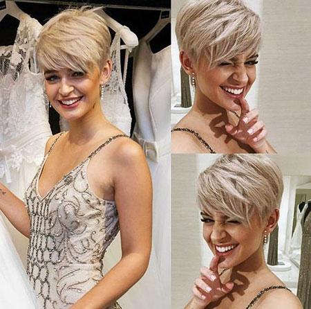 Pixie Short Hair Silver