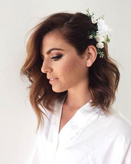 Hair Wedding Mid Short