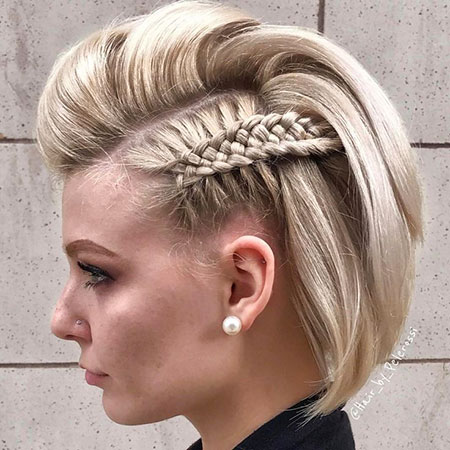 Short Hair Braid 60
