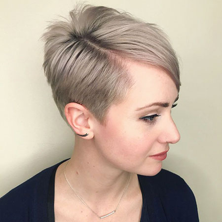 Pixie Tapered Choppy Side