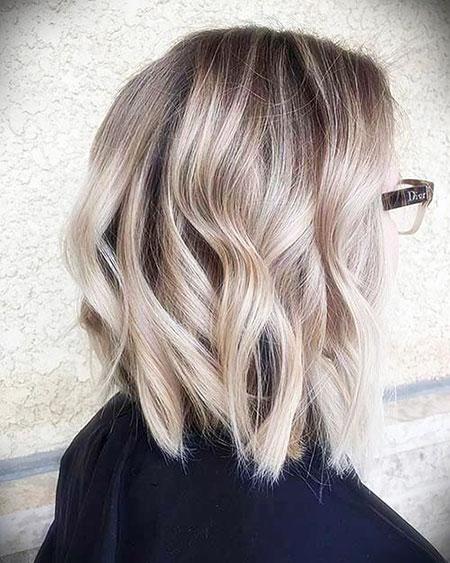 Hair Color Blonde Short