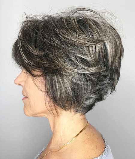 Layered Bob Short Textured