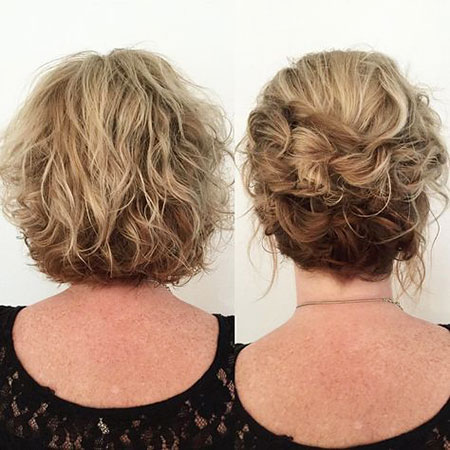 Short Hairtyle Layered Up