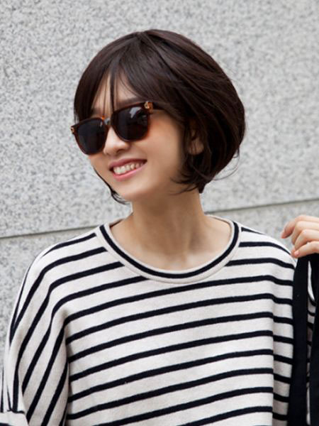 Girly Style, Short Hair Up Day