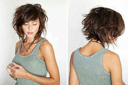 Shag Hair, Hair Wavy Short Hairtyles