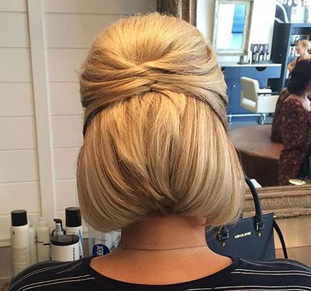 30 Updo Hairstyles For Short Hair
