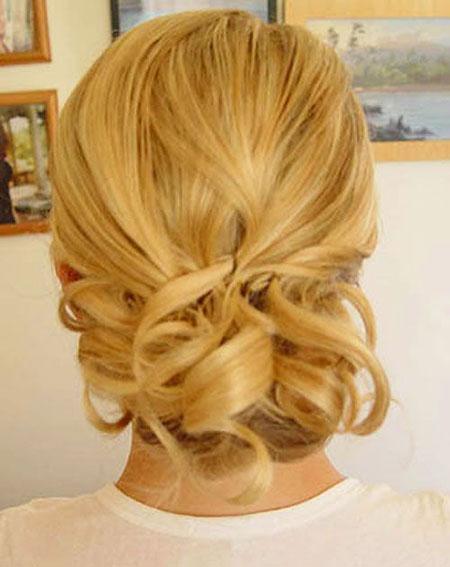 Classy Updo, Hair Wedding Short Updo