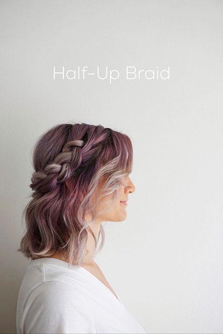 Braided Style, Hair Length Hairtyles Girl