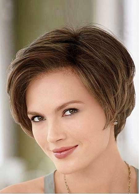 Summer Haircut, Short Hair Face Round