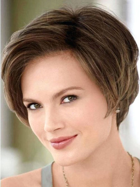 Modern Short Bob, Faces Short 40 Oval
