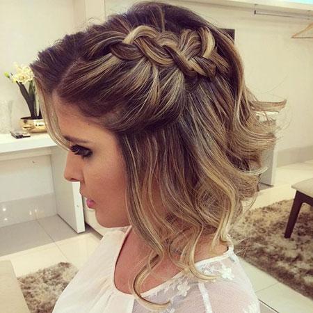 Cute Braided Updo, Prom Hairtyles Hair Short
