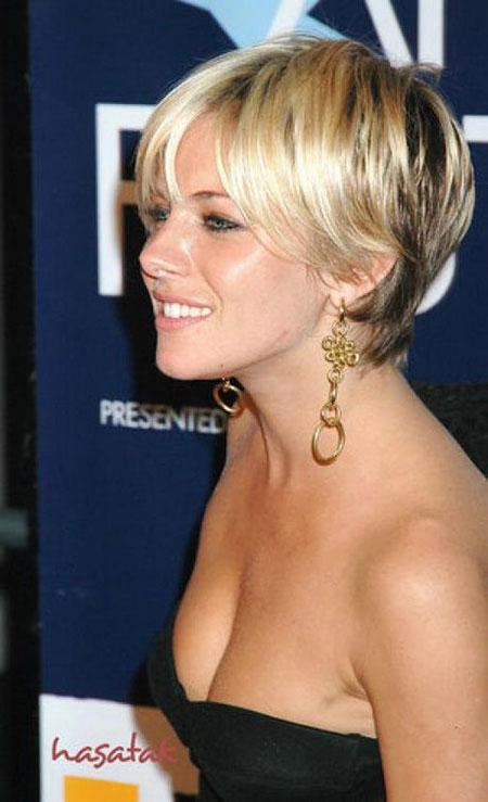 Blonde Short Hair, Short Hair Fine Women