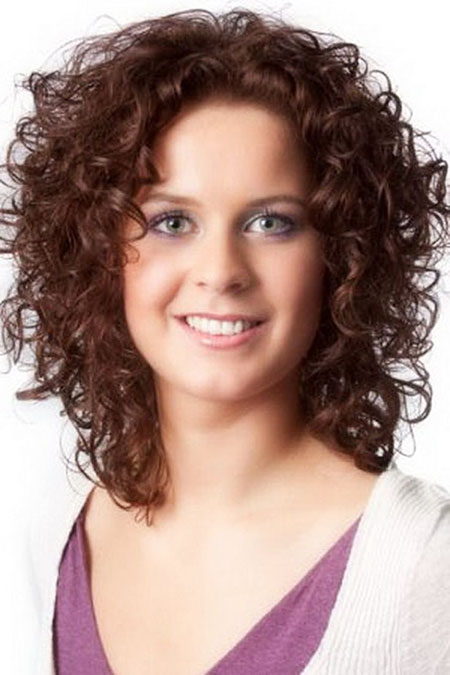 Curly Hair Length Medium