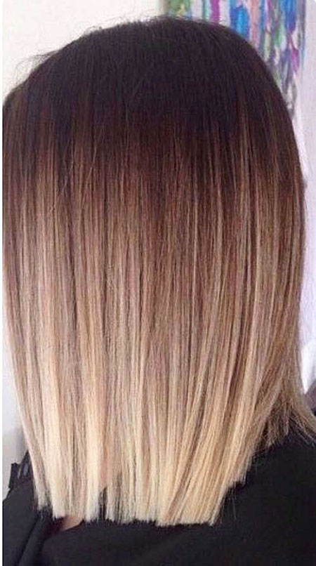 Hair Short Ombre Color