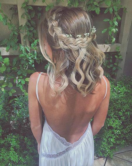 Hair Prom Short Wedding
