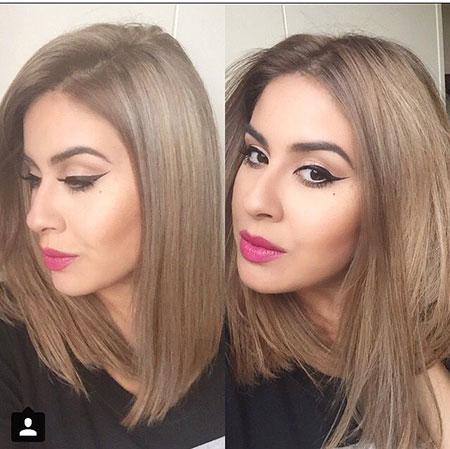 Hair Makeup Ash Blonde
