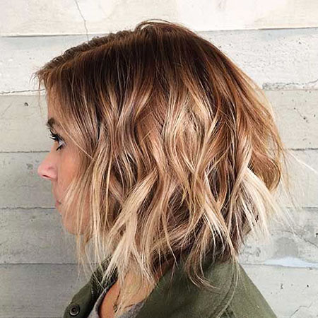 Choppy Ombre Color Short