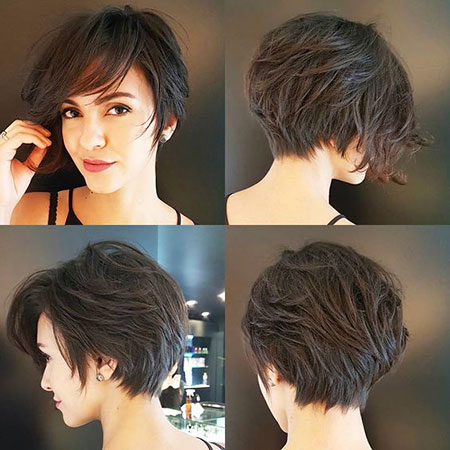 New Short Layered Hairtyle, Hair Pixie Short Layered