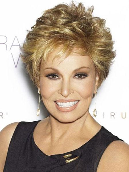 Short Haircut for Women Over 50, Hair Short Women Curly
