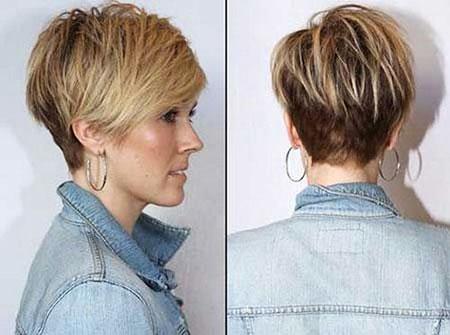 Short Hair Women Pixie