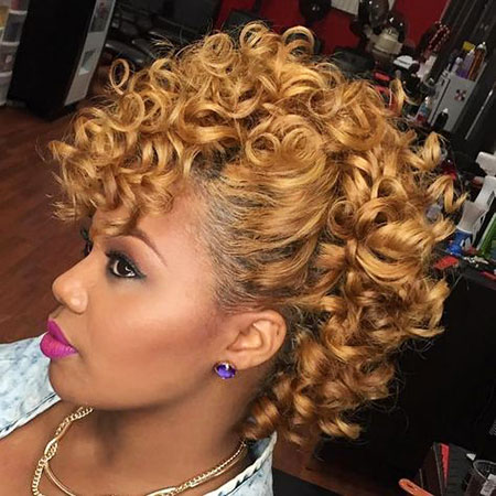 Curly Hair Styles African