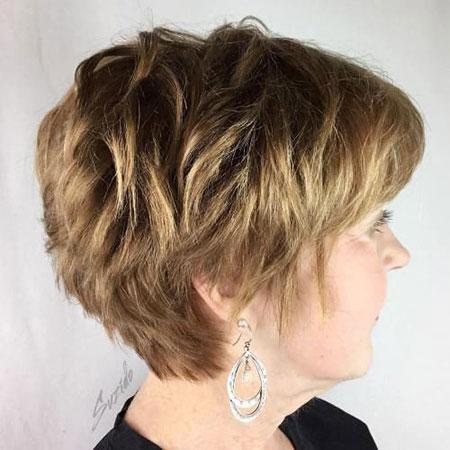 Pixie Hair Women Over