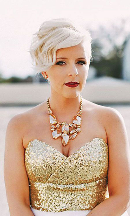 Hair Pixie Short Bridal