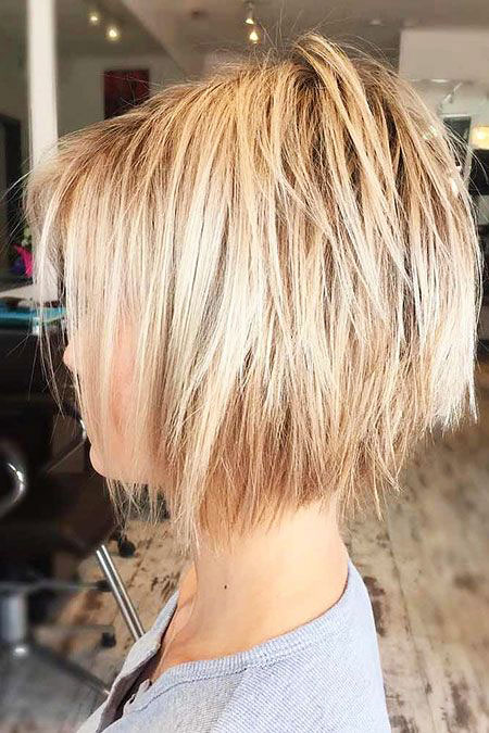 Blonde Short Bob Brown