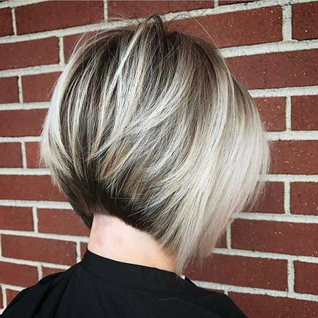 Bob Blonde Layered Balayage