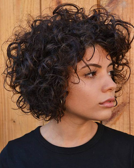 Curly Hair Bob Naturally