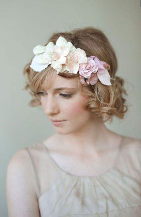 Wedding Bridal Headband Flower