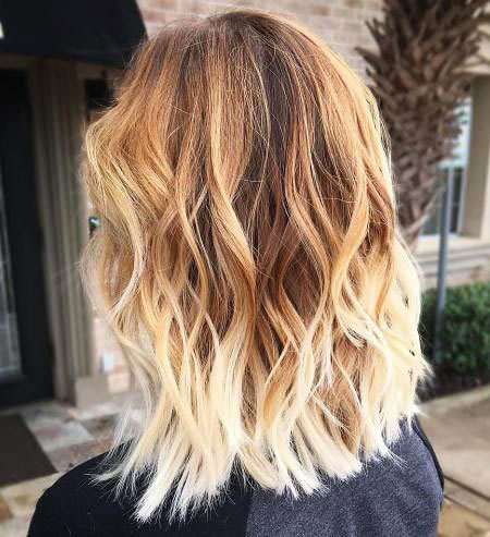 Blonde Hair Ombre Brown