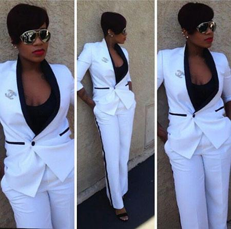 Side Black White Style