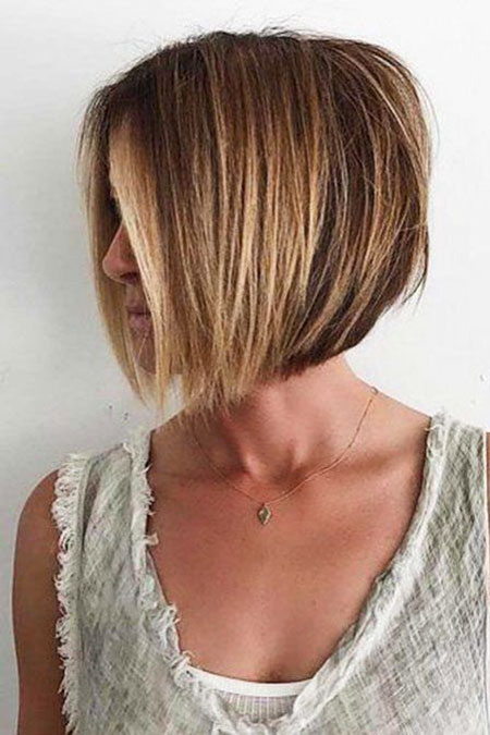 Layered Bob Short Shag